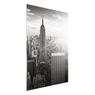 Immagine del prodotto Stampa su Forex - Manhattan Skyline -...