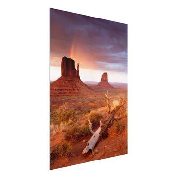 Immagine del prodotto Stampa su Forex - Monument Valley at...