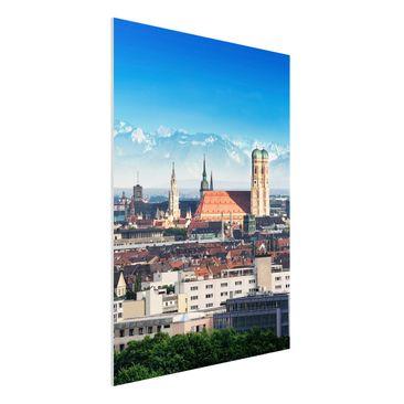 Immagine del prodotto Stampa su Forex - Munich - Verticale 4:3