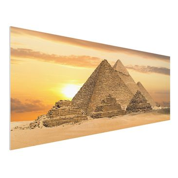 Immagine del prodotto Stampa su Forex - Dream of Egypt - Panoramico