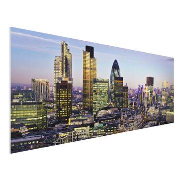 Immagine del prodotto Stampa su Forex - London City - Panoramico