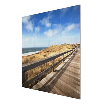 Product picture Aluminium Print brushed - Mural North...