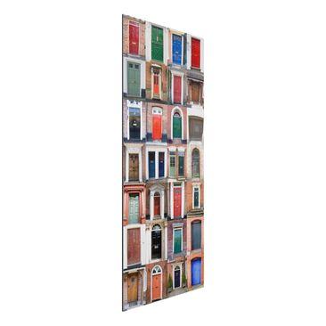 Immagine del prodotto Stampa su alluminio spazzolato - 100 Doors - Pannello