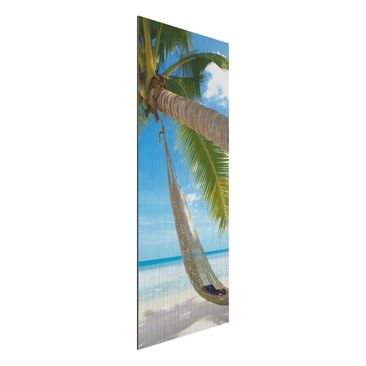 Product picture Aluminium Print brushed - Mural Relaxing...