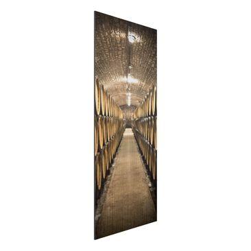 Immagine del prodotto Stampa su alluminio spazzolato - Wine cellar - Pannello
