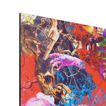 Product picture Aluminium Print brushed - Mural Brain...