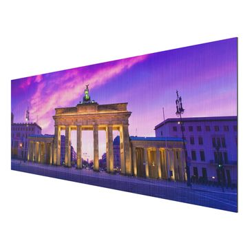 Product picture Aluminium Print brushed - Mural This is...