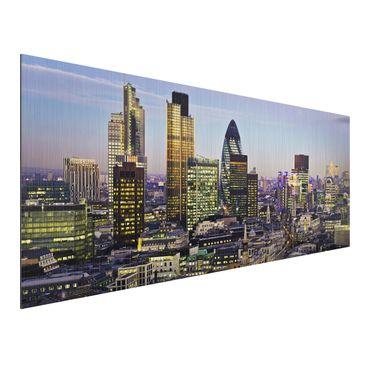 Product picture Aluminium Print brushed - Mural London...