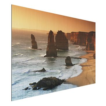 Produktfoto Aluminium Print brushed - Mural The...