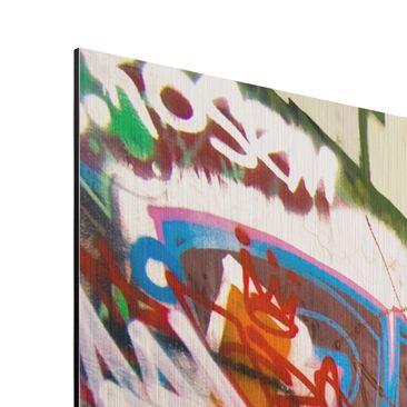Product picture Aluminium Print brushed - Mural Skate...