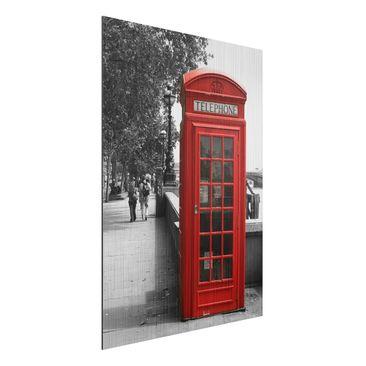 Immagine del prodotto Stampa su alluminio spazzolato - Telephone - Verticale 4:3