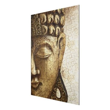 Product picture Aluminium Print brushed - Mural Vintage...