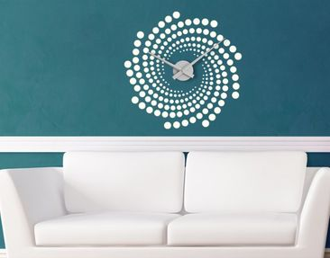 Product picture Wall Decal Clock no.IS113 Helix