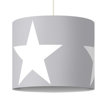 Immagine del prodotto Lampadario design Large white stars on gray
