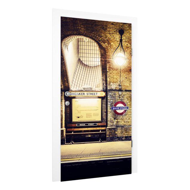 Produktfoto Vliestapete Tür - Baker Street -...
