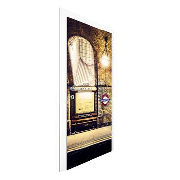 Immagine del prodotto Carta da parati per porte - Baker Street - 215cm x 96cm