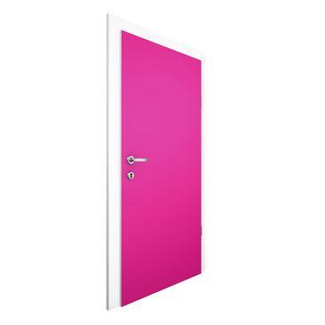 Produktfoto Vliestapete Tür - Colour Pink - Türtapete