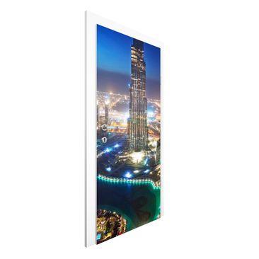 Produktfoto Vliestapete Tür - Dubai Marina - Türtapete