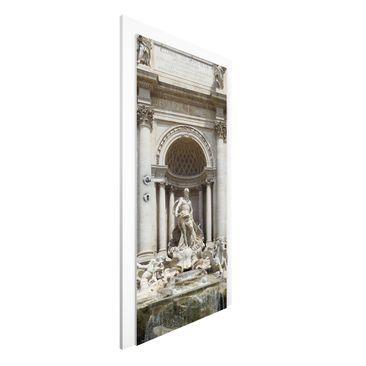 Produktfoto Vliestapete Tür - Fontana Di Trevi - Türtapete
