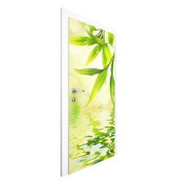 Immagine del prodotto Carta da parati per porte - Green Ambiance I - 215cm x 96cm