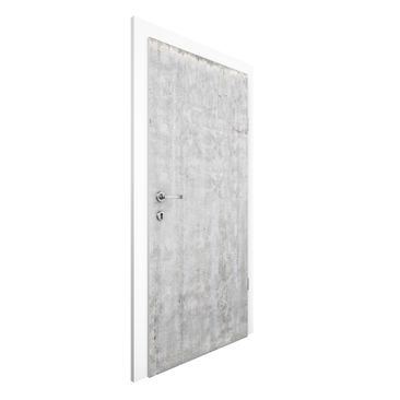 Immagine del prodotto Carta da parati per porte - Large wall with concrete look - 215cm x 96cm
