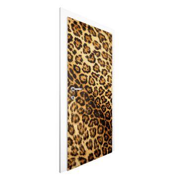 Produktfoto Vliestapete Tür - Jaguar Skin - Türtapete