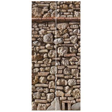 Product picture Non-woven Wallpaper Door - Mediterranean...