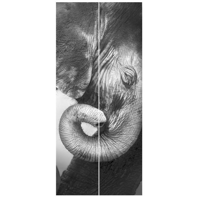 Produktfoto Vliestapete Tür - Mutterliebe - Türtapete