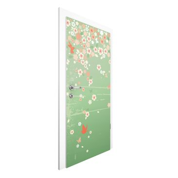 Immagine del prodotto Carta da parati per porte - No.EK236 Spring Background - 215cm x 96cm