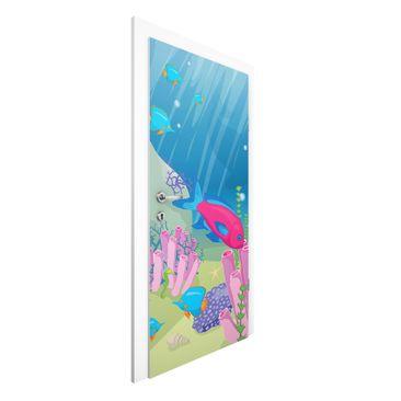 Immagine del prodotto Carta da parati per porte - No.RY25 Underwater World - 215cm x 96cm
