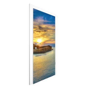 Immagine del prodotto Carta da parati per porte - Sunset over...