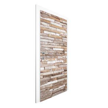 Immagine del prodotto Carta da parati per porte - Turkey Wood...