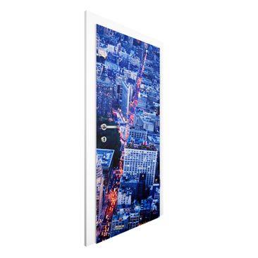 Produktfoto Vliestapete Tür Premium - Big Apple - Türtapete