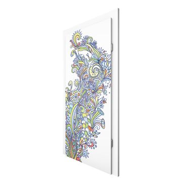 Product picture Non-Woven Wallpaper Door Premium - Rush...