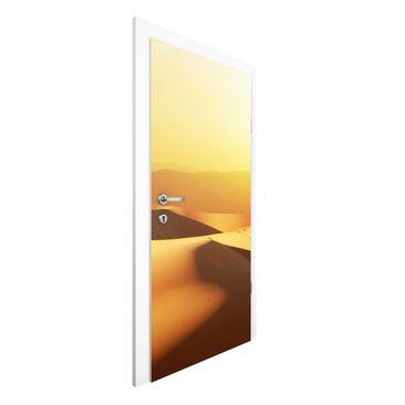 Produktfoto Vliestapete Tür Premium - Die Wüste...
