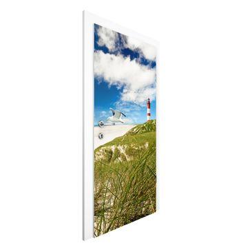 Immagine del prodotto Carta da parati per porte Premium - Dune...