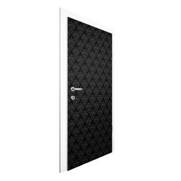 Produktfoto Vliestapete Tür Premium - Dunkler Barock - Türtapete