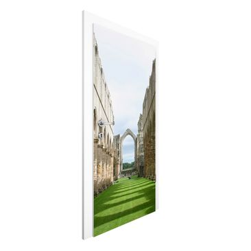 Immagine del prodotto Carta da parati per porte Premium - Fountains Abbey - 215cm x 96cm