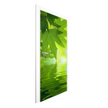 Immagine del prodotto Carta da parati per porte Premium - Green Ambiance III - 215cm x 96cm