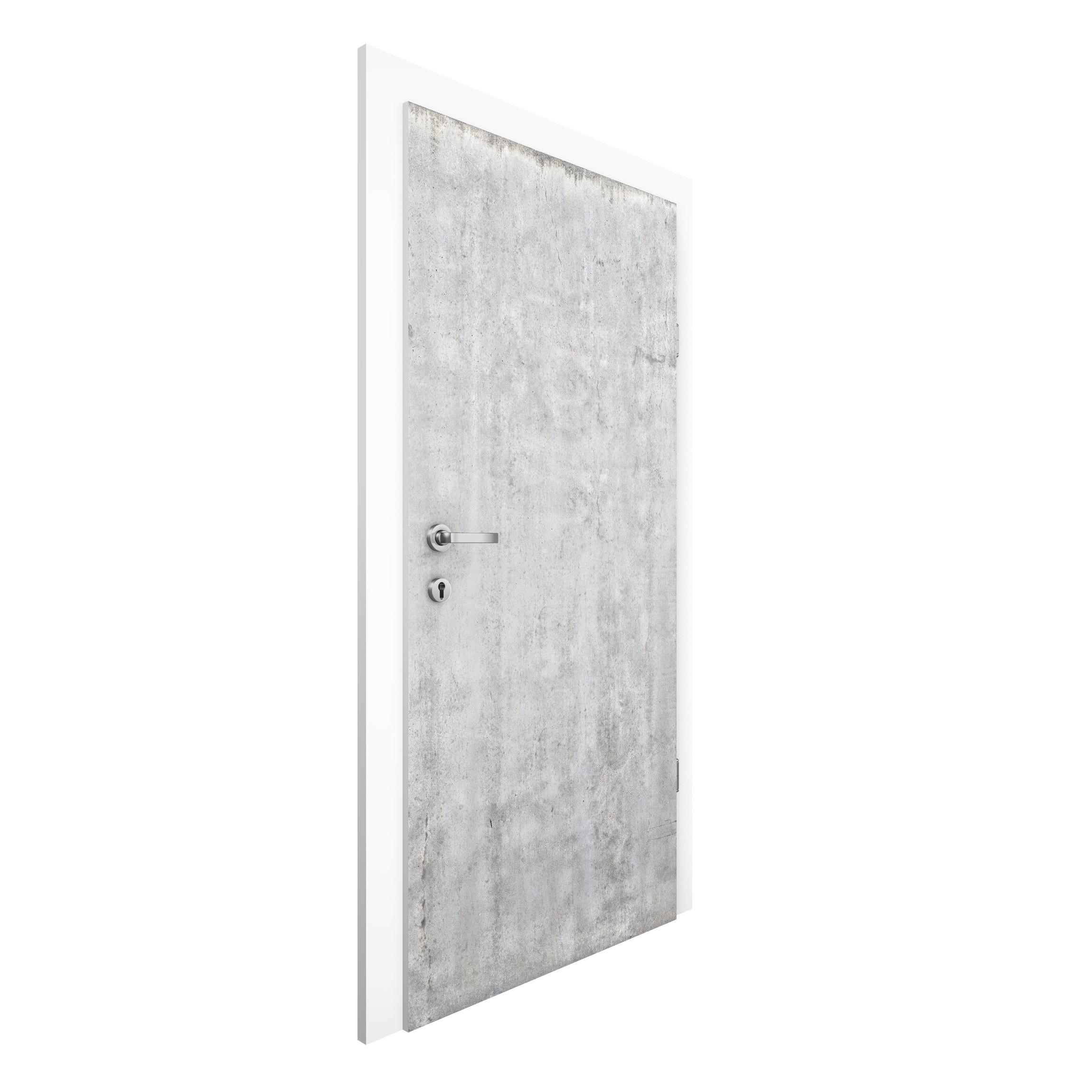 vliestapete t r premium gro e wand mit betonlook t rtapete. Black Bedroom Furniture Sets. Home Design Ideas