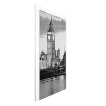 Immagine del prodotto Carta da parati per porte Premium - London At Night II - 215cm x 96cm
