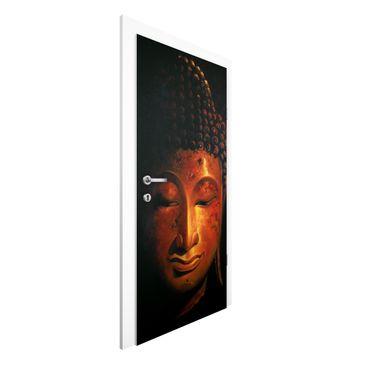 Produktfoto Türtapete Buddha - Madras Buddha - Premium Vliestapete für die Tür