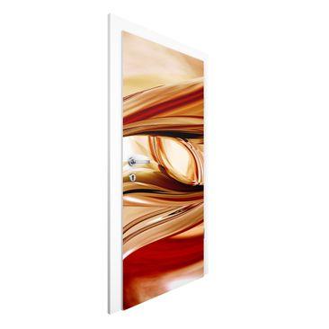 Produktfoto 3D Türtapete - Mandalay - Vliestapete Premium