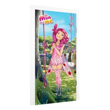 Produktfoto Kinderzimmer Türtapete - Mia and me - Mias Welt - Vliestapete Premium
