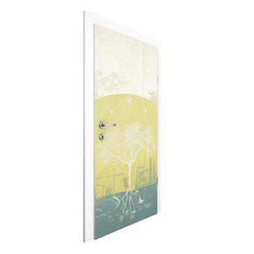Immagine del prodotto Carta da parati per porte Premium - No.MW18 Evolution - 215cm x 96cm