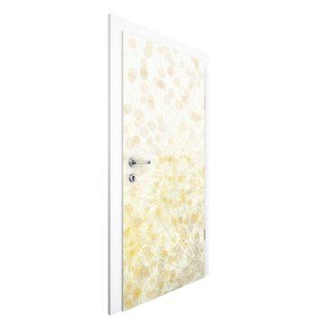Immagine del prodotto Carta da parati per porte Premium - No.RY6 Flowers Rain - 215cm x 96cm