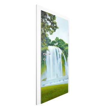 Immagine del prodotto Carta da parati per porte Premium - Paradise on Earth - 215cm x 96cm