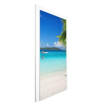 Produktfoto Vliestapete Tür Premium - Perfect Maledives - Türtapete