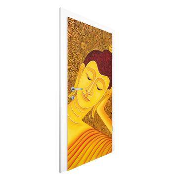 Produktfoto Türtapete Buddha - Shanghai Buddha - Premium Vliestapete für die Tür