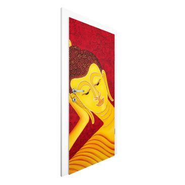 Produktfoto Türtapete Buddha - Taipei Buddha - Premium Vliestapete für die Tür